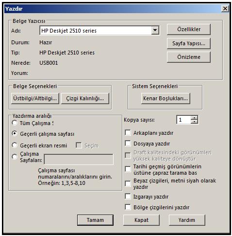 Yazdirma Printing 1 Teknik Resim Detaylar Ve Yazdirma